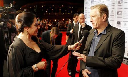 Tribeca Film Festival co-founder Robert De Niro attends the opening night ceremony and gala screening of ''The Reluctant Fundamentalist'' during the 2012 Doha Tribeca Film Festival at Al Mirqab Hotel in Doha November 17, 2012. REUTERS/Mohammed Dabbous