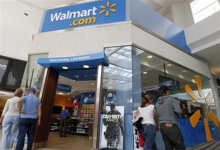 A view of a Wal-Mart.com store at the Topanga Plaza in Canoga Park, California, November 8, 2011. REUTERS/Fred Prouser
