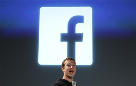 Facebook CEO Mark Zuckerberg addresses the audience during a media event at Facebook headquarters in Menlo Park, California March 7, 2013. REUTERS/Robert Galbraith