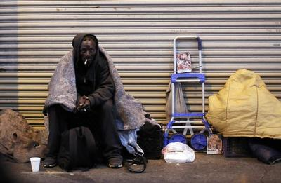 Living on Skid Row
