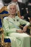 Princess Lilian of Sweden is seen in this December 10, 2005 file photo provided by Scanpix. REUTERS/Henrik Montgomery/Scanpix