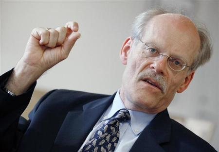 Stefan Ingves speaks to Reuters reporters during an interview in Stockholm June 16, 2011. REUTERS/Bob Strong/Files