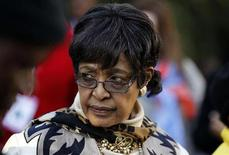 Winnie Madikizela-Mandela , former wife of Nelson Mandela, attends the African National Congress (ANC) policy meeting in Midrand, north of Johannesburg, June 29, 2012. REUTERS/Siphiwe Sibeko