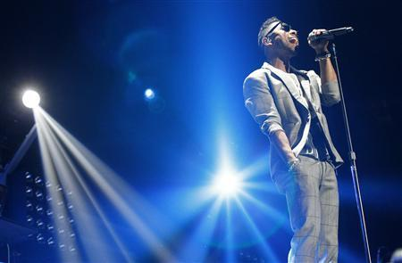 Recording artist Miguel performs at Staples Center in Los Angeles, California March 12, 2013. REUTERS/Mario Anzuoni