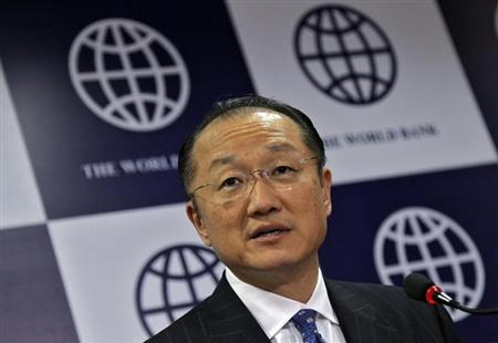 World Bank President Jim Yong Kim speaks during a news conference in New Delhi March 13, 2013. REUTERS/B Mathur