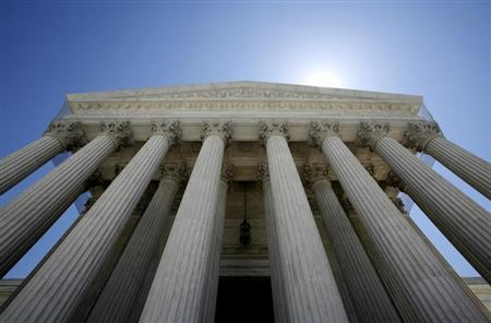 The Supreme Court building seen in Washington May 20, 2009. REUTERS/Molly Riley