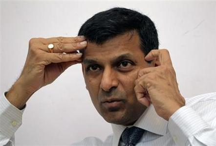 India's chief economic adviser Raghuram Rajan speaks during an interview with Reuters in New Delhi March 11, 2013. REUTERS/B Mathur