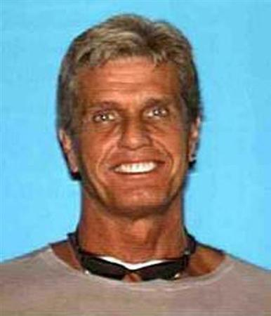 Gavin Smith, 57, a 20th Century Fox distribution executive is shown in this undated photograph released by the Los Angeles County Sheriff's Department. REUTERS/Courtesy Los Angeles County Sheriff's Department/Handout