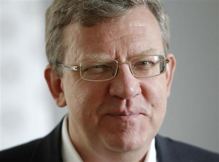 Russia's former Finance Minister Alexei Kudrin attends an interview with Reuters in Moscow September 21, 2012. REUTERS/Maxim Shemetov