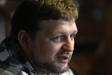 Kirov Governor Nikita Belykh speaks during an interview with Reuters in Moscow February 23, 2013. REUTERS/Sergei Karpukhin