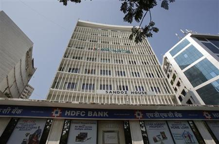 A general view shows a HDFC Bank branch and office in Mumbai November 17, 2012. REUTERS/Vivek Prakash/Files