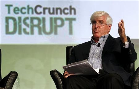 SV Angel's Ron Conway speaks during a question and answer session at the Tech Crunch Disrupt conference in San Francisco, California, September 11, 2012. REUTERS/Beck Diefenbach