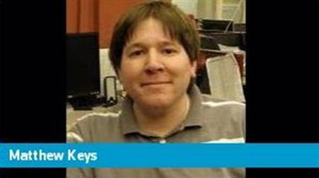 Matthew Keys, deputy social media editor for Reuters.com, is seen in his online profile in this undated photo. REUTERS/Staff