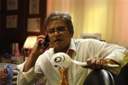 Actor Annu Kapoor in a still from the movie ''Vicky Donor''. Reuters Handout