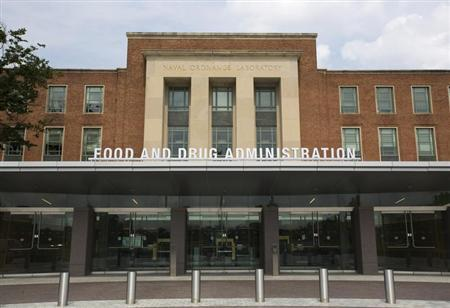 A view shows the U.S. Food and Drug Administration (FDA) headquarters in Silver Spring, Maryland August 14, 2012. Picture taken August 14, 2012. REUTERS/Jason Reed