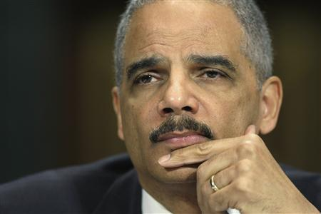 U.S. Attorney General Eric Holder listens to a question at a hearing of the Senate Judiciary Committee on Capitol Hill in Washington, March 6, 2013. REUTERS/Jonathan Ernst