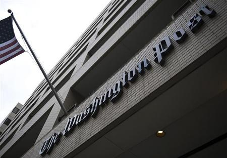 A general view of the exterior of The Washington Post Company headquarters in Washington, March 30, 2012. REUTERS/Jonathan Ernst/Files