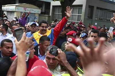 Venezuelan acting President Maduro has 14-point lead...