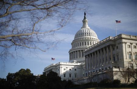 A general view of the U.S. Capitol building in Washington February 28, 2013. REUTERS/Jason Reed