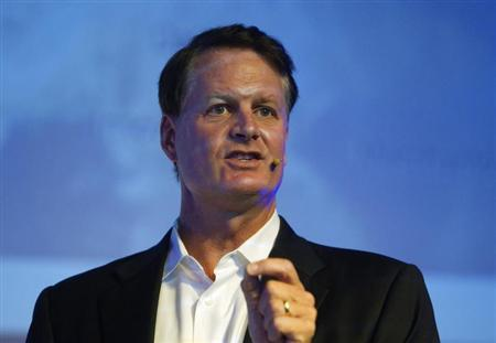 eBay Inc President and CEO John Donahoe, speaks during a hi-tech industry conference in Jerusalem September 11, 2012. REUTERS/Ronen Zvulun