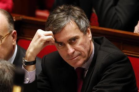 France's Junior Minister for Budget Jerome Cahuzac attends the questions to the government session at the National Assembly in Paris February 12, 2013. REUTERS/Charles Platiau