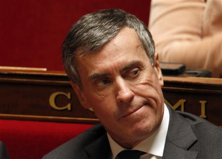 France's Junior Minister for Budget Jerome Cahuzac attends the questions to the government session at the National Assembly in Paris March 19, 2013. REUTERS/Charles Platiau