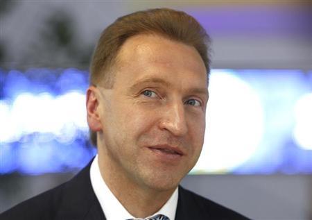 Igor Shuvalov takes part in the St. Petersburg International Economic Forum in St. Petersburg, June 22, 2012. REUTERS/Sergei Karpukhin