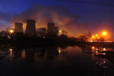 A general view of Drax power station in Drax, northern England, February 16, 2011. REUTERS/Nigel Roddis