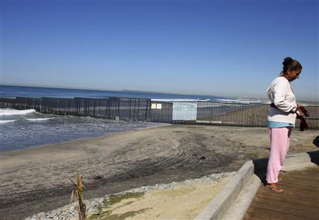 By Land Or By Sea Tougher US Border Tests Illegal Immigrants - Us sea border map