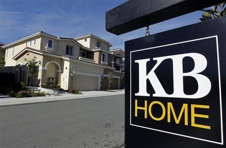Newly finished development of homes for sale, built by home builder KB Homes, are pictured in Carlsbad, California January 4, 2011. REUTERS/Mike Blake