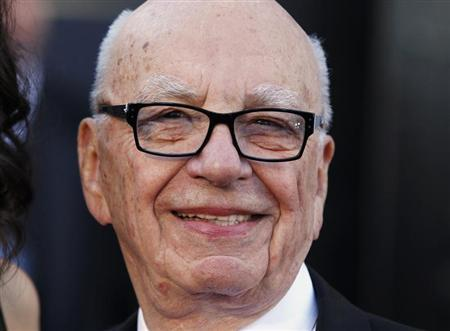 Chairman and CEO of News Corporation Rupert Murdoch arrives at the 85th Academy Awards in Hollywood, California February 24, 2013. REUTERS/Lucas Jackson