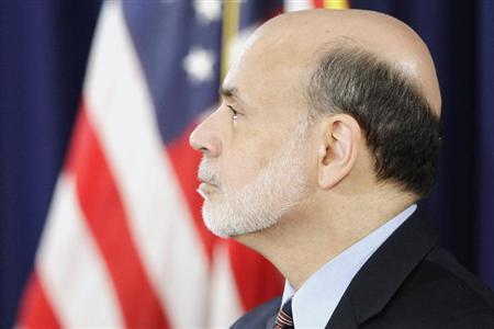 Federal Reserve Board Chairman Ben Bernanke attends a news conference at the Federal Reserve offices in Washington, March 20, 2013. REUTERS/Jonathan Ernst