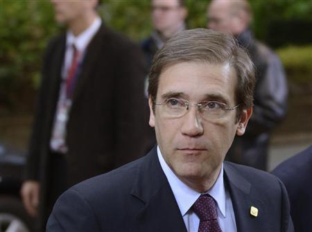 Portugal's Prime Minister Pedro Passos Coelho arrives at the European Union (EU) council headquarters for an EU leaders summit discussing the EU's long-term budget in Brussels November 23, 2012. REUTERS/Eric Vidal