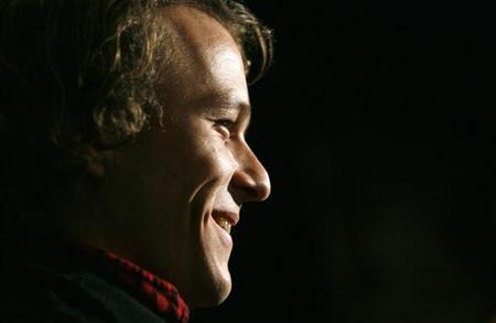 File photo of late actor Heath Ledger arriving at the premiere of the film ''Candy'' in New York November 6, 2006. REUTERS/Eric Thayer
