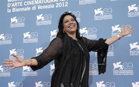 Mira Nair poses during a photocall for the movie The Reluctant Fundamentalist at the 69th Venice Film Festival in Venice August 29, 2012. REUTERS/Max Rossi/Files