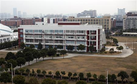 A Jiaotong University campus is seen at Zhangjiang High Technology Park, on the outskirts of Shanghai March 16, 2013. REUTERS/Carlos Barria