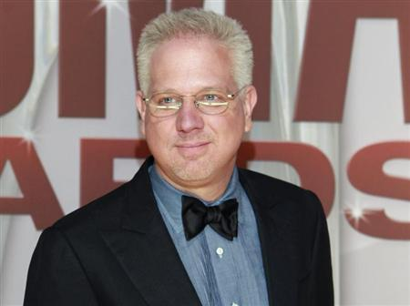 Commentator Glenn Beck arrives at the 45th Country Music Association Awards in Nashville, Tennessee November 9, 2011. REUTERS/Harrison McClary