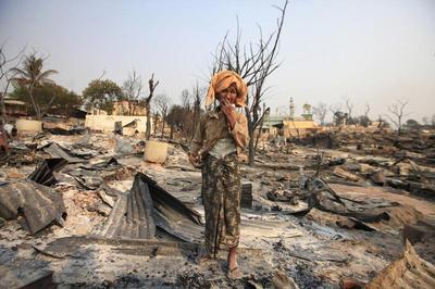 Riots in Myanmar