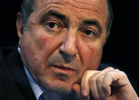 Russian oligarch Boris Berezovsky attends the launch of the Litvinenko Justice Foundation in London in this April 3, 2007 file photo. REUTERS/Kieran Doherty/Files