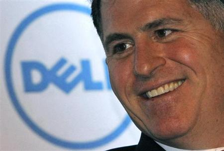 Dell Inc. founder Michael Dell smiles during a business conference in New Delhi March 22, 2011. REUTERS/B Mathur/Files