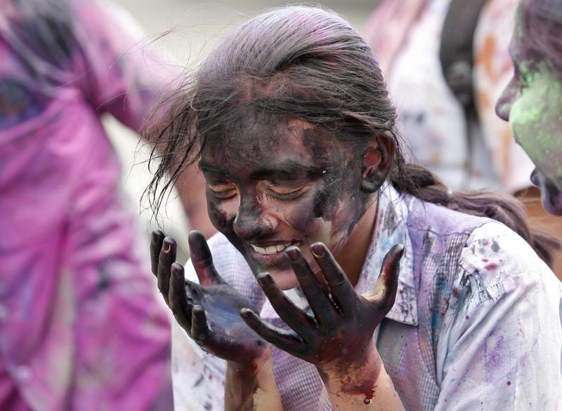 Celebrating Holi