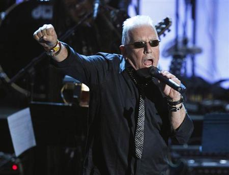 Musician Eric Burdon performs during the 2010 Rock and Roll Hall of Fame induction ceremony at the Waldorf Astoria Hotel in New York, March 15, 2010. REUTERS/Lucas Jackson