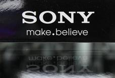 A logo of Sony Corp is pictured at an electronic store in Tokyo June 27, 2012. REUTERS/Yuriko Nakao