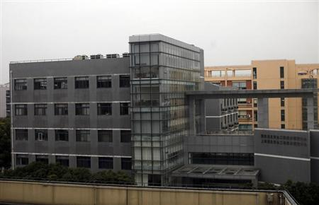 The National Information Security Engineering Center, a building commissioned by the People's Liberation Army's Cyber Unit, is seen at the Zhangjiang High Technology Park, on the outskirts of Shanghai March 16, 2013. Faculty members at a top Chinese university have collaborated for years on technical research papers with a People's Liberation Army (PLA) unit accused of being at the heart of China's alleged cyber-war against Western commercial targets. Picture taken March 16, 2013. REUTERS/Carlos Barria