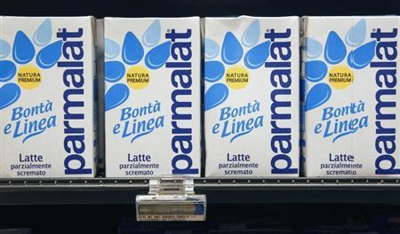 Cartons of milk are seen in a supermarket in Rome April 1, 2011. REUTERS/Max Rossi