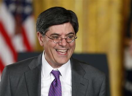 U.S. Secretary of Treasury Jack Lew in the East Room of the White House in Washington, March 4, 2013. REUTERS/Larry Downing