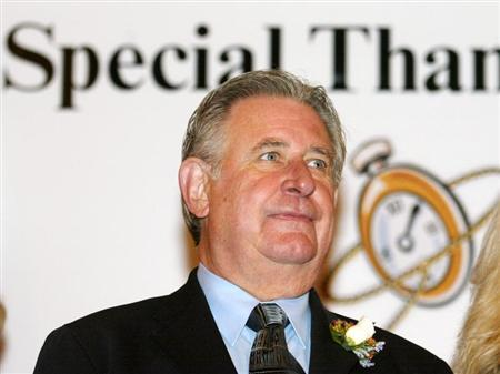 Ralph Klein attends a function at Heritage Park in Calgary, September 20, 2006. REUTERS/Patrick Price