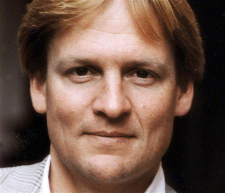 Michael Lewis is seen in this undated publicity photo, received by Reuters in 2001. REUTERS/Handout