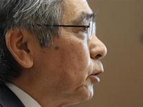 Bank of Japan's (BOJ) Governor Haruhiko Kuroda attends the upper house Financial Affairs committee of the Parliament in Tokyo March 28, 2013. REUTERS/Yuya Shino