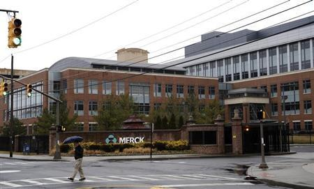 A view of the Merck & Co. campus in Linden, New Jersey March 9, 2009. REUTERS/Jeff Zelevansky